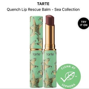 🎁 TARTE quench lip rescue balm in Berry 🎁 NEW